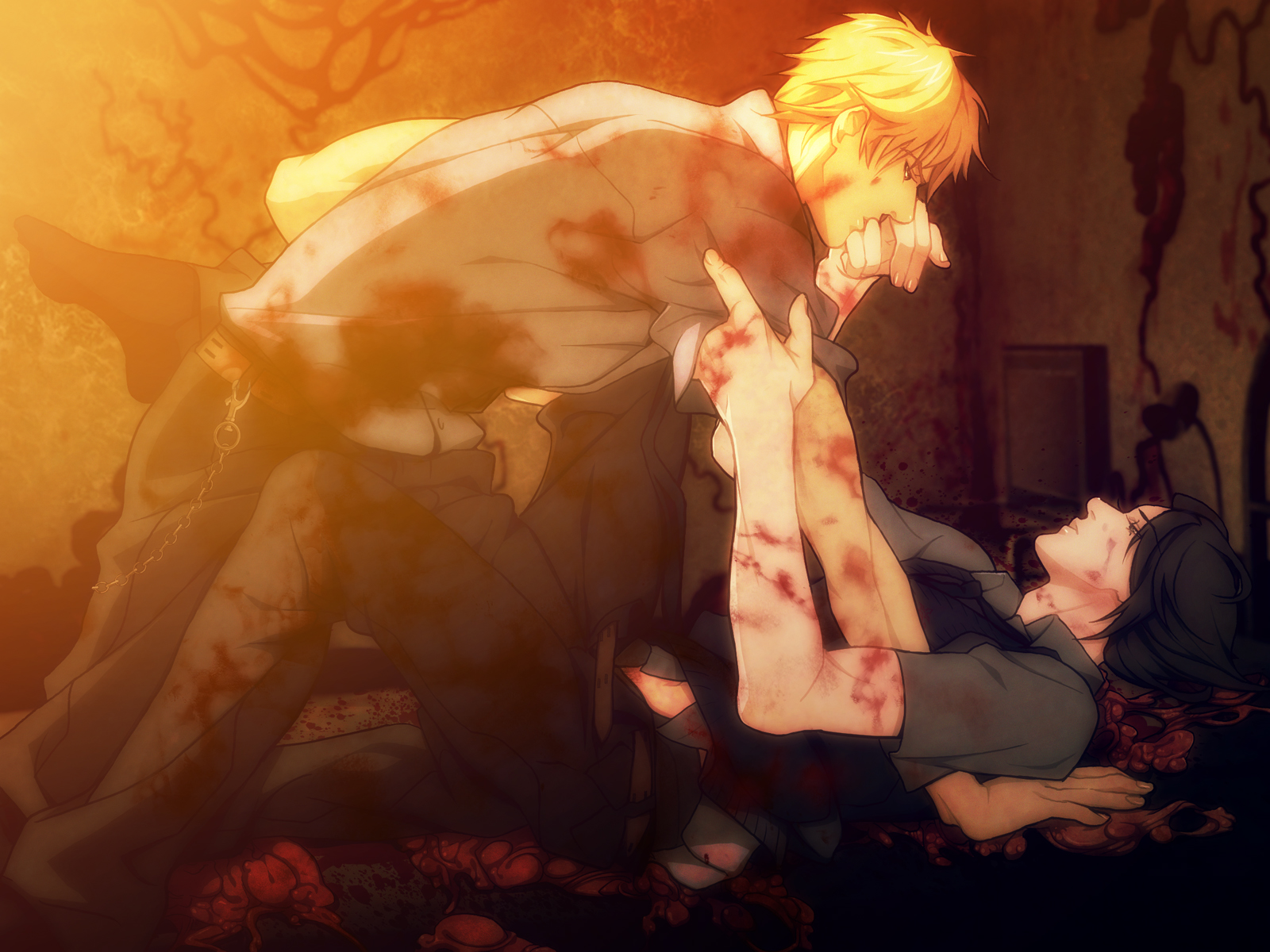L and Light kissing  Death Note fanart on yaoionlinecom